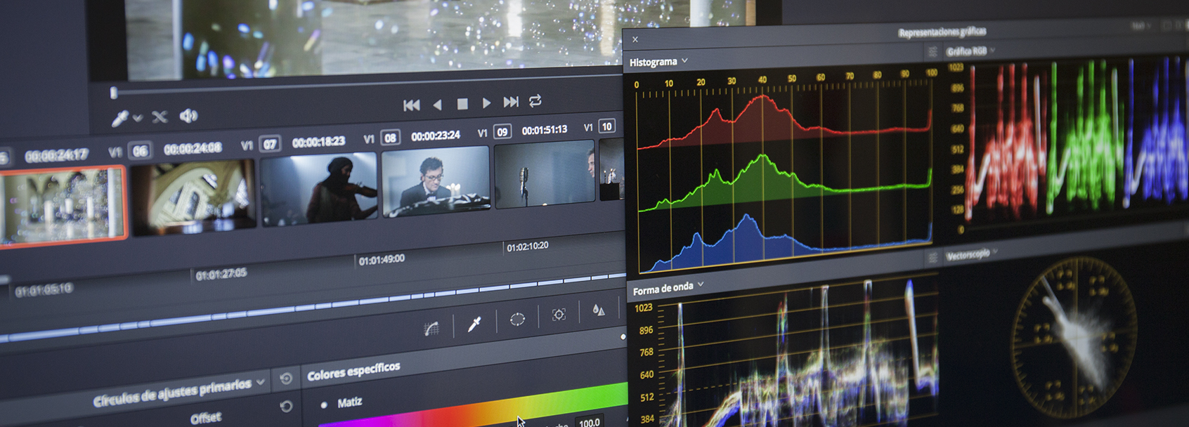 Corrección de color con Davinci Resolve