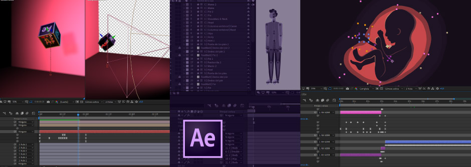 Estudiar Motion graphics con After Effects
