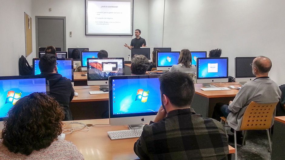 Inicio cursos Lightroom, Documentales y Photoshop en Granada