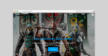 Proyecto For Honor Web